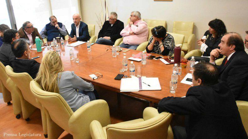 Los argumentos de Garzonio y Tarrío convencieron a los diputados y hoy habrá una ley.
