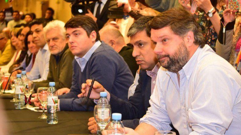 El primer encuentro del Bloque Patagónico que se realizó el 10 de agosto en Bariloche.