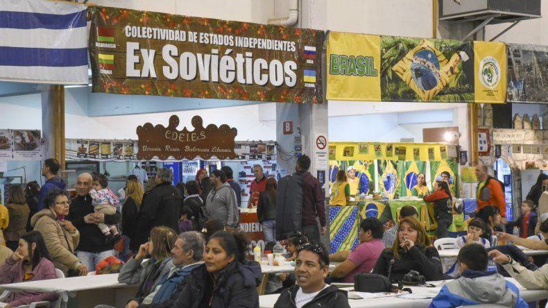 Se realizó el lanzamiento de la Feria de Colectividades Extranjeras
