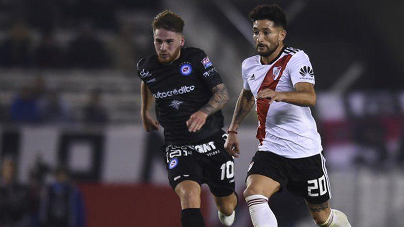 Argentinos Juniors viene de empatar como visitante sin goles con River Plate.