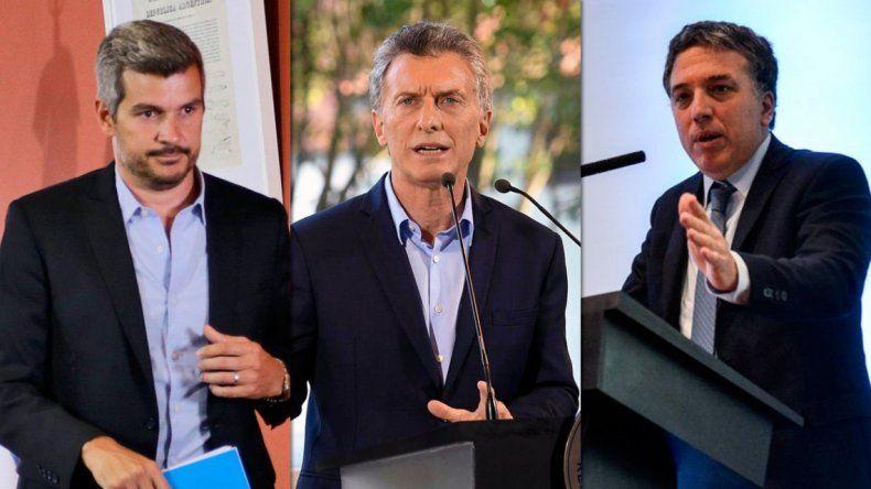 Macri y su gabinete siguen con reuniones en medio de la crisis