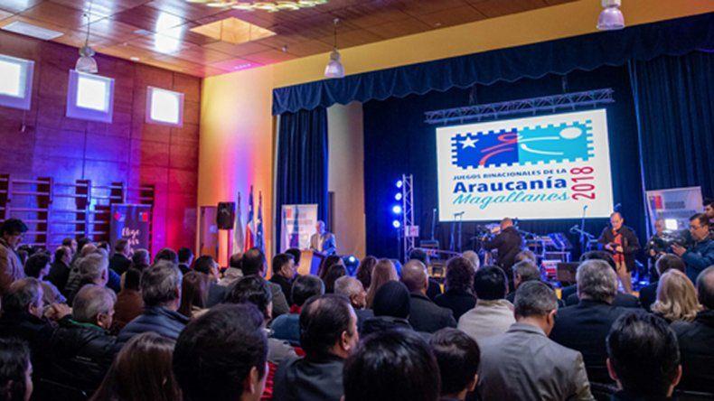 La apertura de las reuniones de los Juegos de la Araucanía abrió con novedades para la edición 2019.