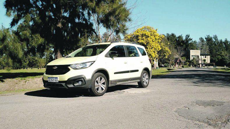 Chevrolet Spin Activ A/T de 7 asientos: imagen renovada con gran habitabilidad