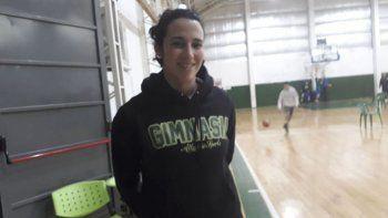 Paula Reggiardo se encuentra trabajando con las categorías formativas de Gimnasia.