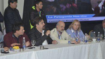 El concejo valoró la muestra de unidad de la Patagonia