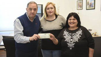 El merendero del San Cayetano recibió un subsidio del municipio
