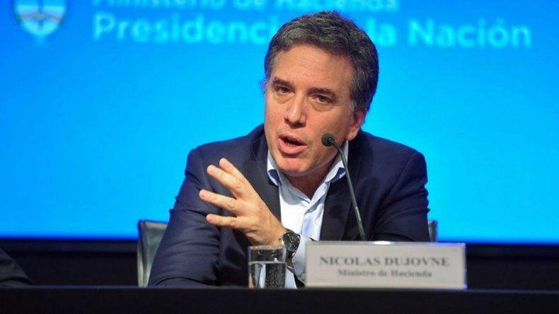 Dujovne anunció que se llegará al déficit 0 en 2019