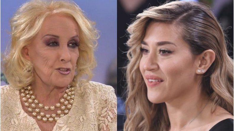 Jimena Barón a Mirtha Legrand: no puedo respetarte