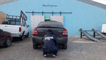 En el Abel Amaya recuperaron un auto robado
