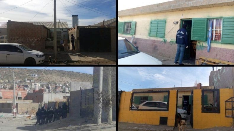 Tres allanamientos por diferentes robos en la ciudad