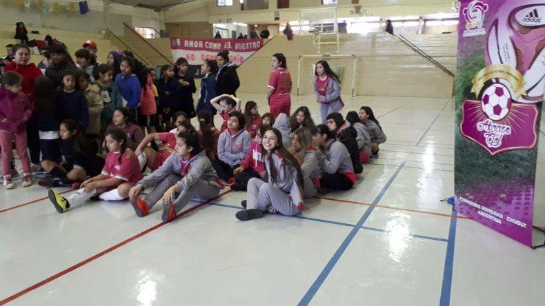 Las chicas de Abrazo de Gol se destacaron en Puerto Madryn.