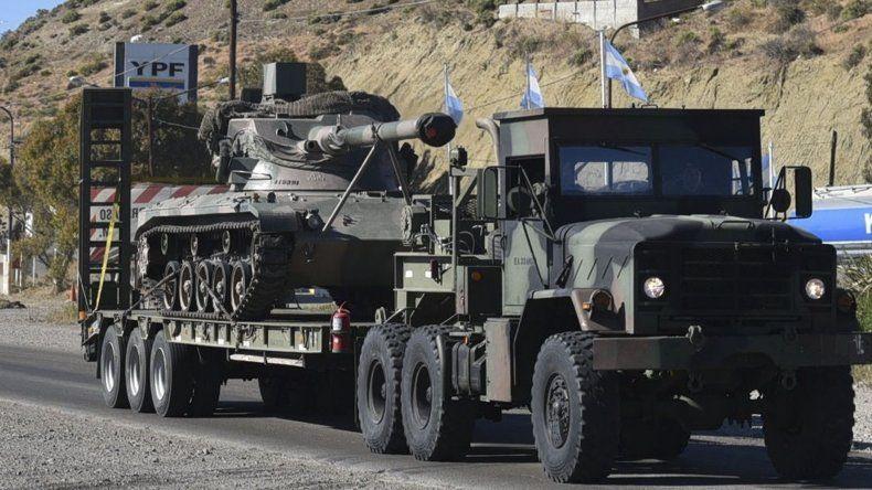 Tropas y unidades móviles livianas y pesadas del Ejército