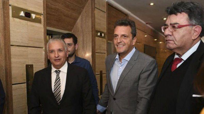 Sergio Massa mantiene reuniones constantes con los gobernadores del PJ que no son afines con el kirchnerismo.