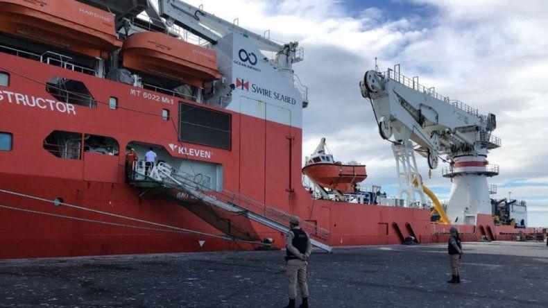 Llegó el Seabed Constructor a Comodoro para buscar al ARA San Juan