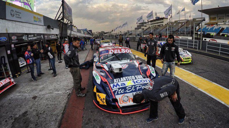 Marcelo Agrelo se encuentra quinto en el campeonato del TC Pista.