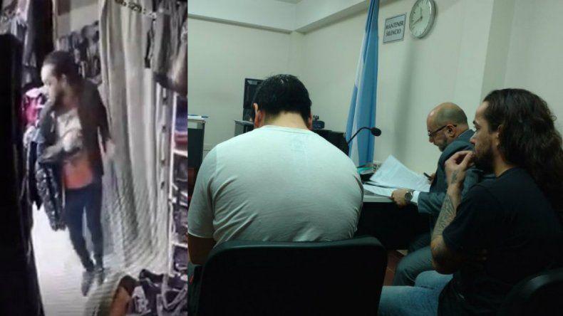 Ladrón de remeras de Comodoro fue imputado por robo en Sarmiento