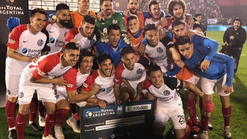 San Lorenzo se lo empató a Colón y pasó por penales