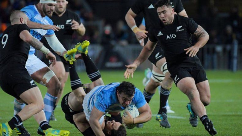 Los All Blacks vencieron a Los Pumas