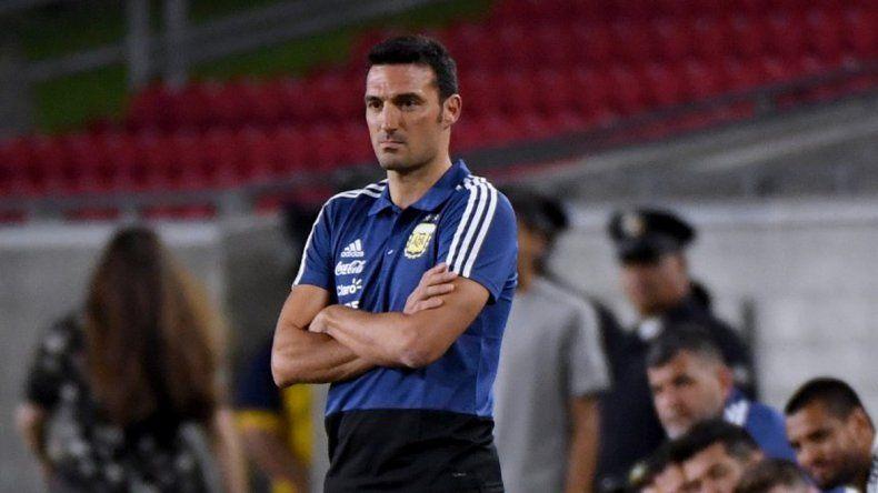 Lionel Scaloni debutó con un triunfo como entrenador interino de la selección argentina de fútbol.