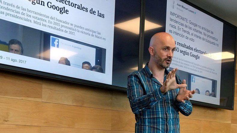 Lucero es consultor en estrategia digital