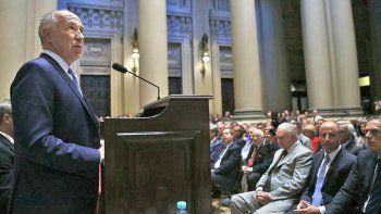 Lorenzetti deja la presidencia de la Corte Suprema a manos de Rozenkratz