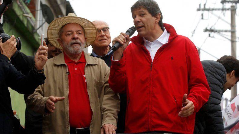 Lula se bajó de la carrera presidencial y el PT oficializa a Haddad como candidato