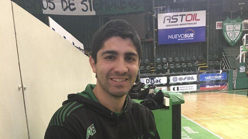 Martín Villagrán destacó la actuación que tuvo el equipo en el amistoso ante Hispano Americano.