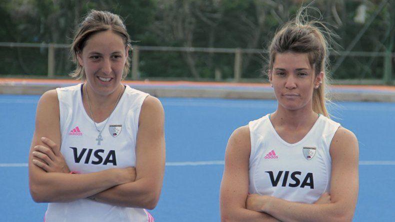 Belén Succi y Agustina Albertario serán las leonas que compartirán su experiencia en Calafate RC.