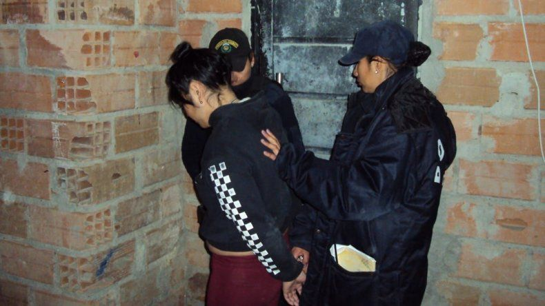 Ayelén Meza fue la última en caer y la primera en volver a su casa. Y eso que fue descripta como la más violenta del grupo.