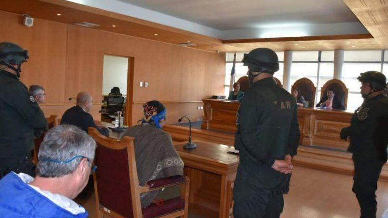 Jones Huala atravesó una audiencia de quince minutos en Valdivia