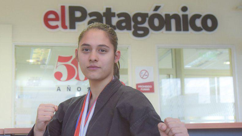Tasha Fritz comienza a escribir su propia historia en las artes marciales y en breve comenzará a dar clases.