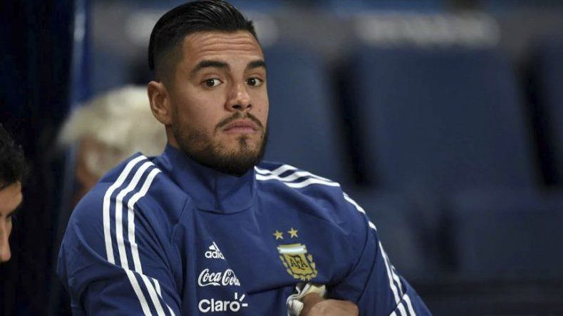 Sergio Romero fue suplente en la selección argentina después de mucho tiempo.