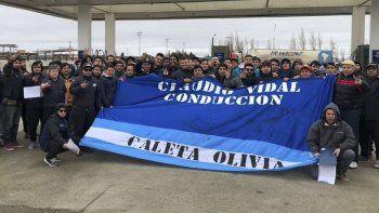 La delegación petrolera de Caleta Olivia fue la más numerosa que visitó Puerto San Julián a principios de esta semana.