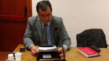 El fiscal Herminio Gonzales Meneses.