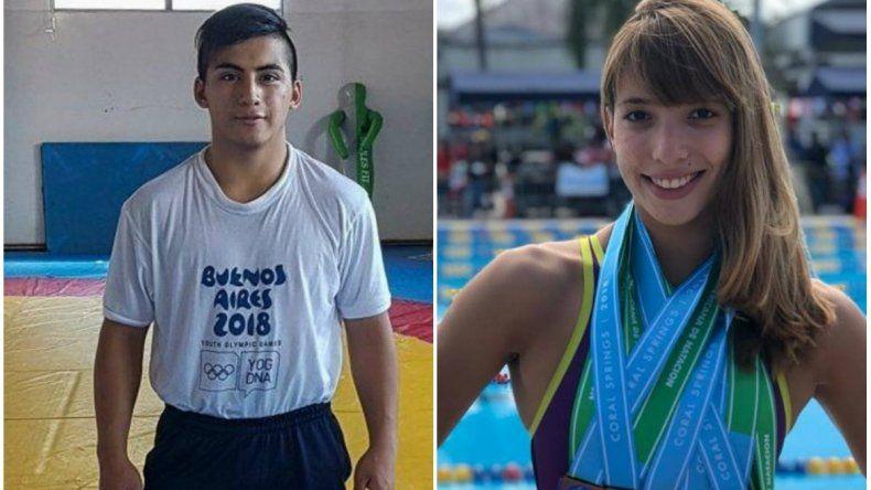 Lema y Almendra confirmados para los Juegos Olímpicos de la Juventud