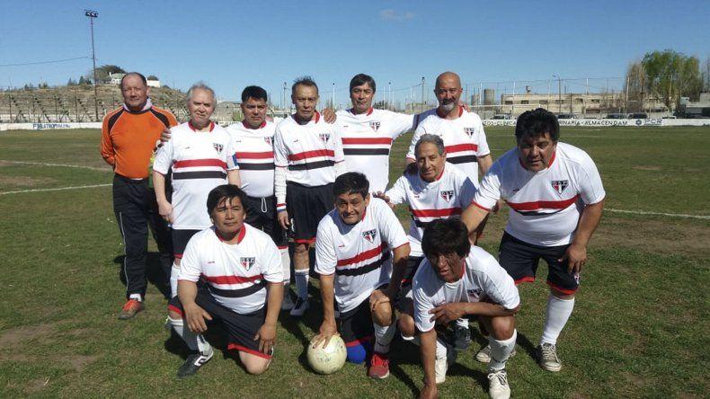 El equipo de San Pablo de la categoría Super Master.