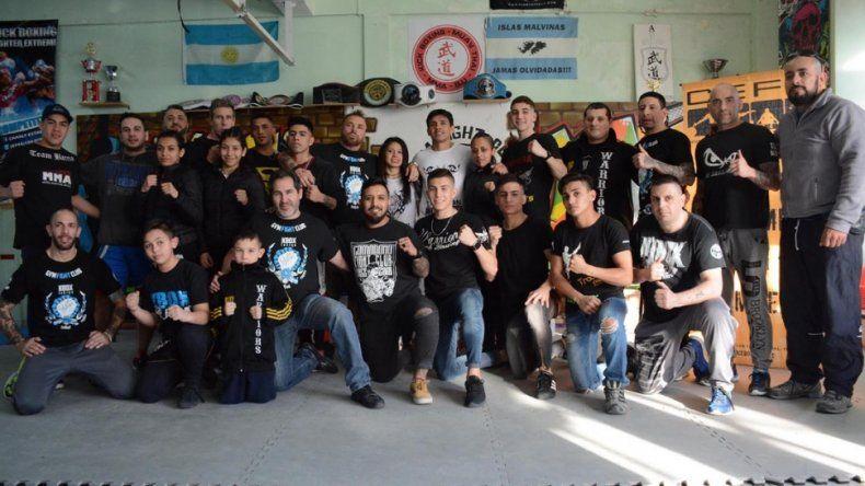 Festival de Kickboxing y MMA en Comodoro