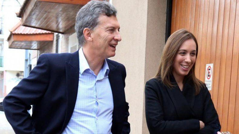 María Eugenia Vidal pidió la reelección de Mauricio Macri