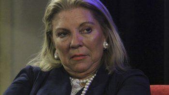 Elisa Carrió volvió a autorreferenciarse como una defensora de la democracia.