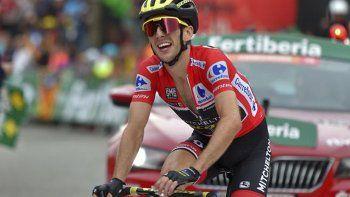 El británico Simon Yates se prácticamente el ganador de la Vuelta ciclística a España.