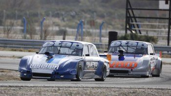 La final del TC Austral fue la primera que se corrió en la tarde de ayer en el autódromo Mar y Valle de Trelew.