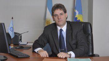 Héctor Simionati, defensor del Pueblo de Chubut.