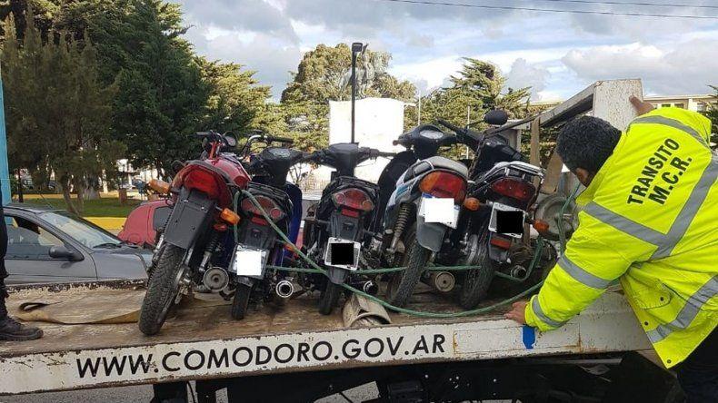 Controles de tránsito simultáneos en distintas zonas de Comodoro