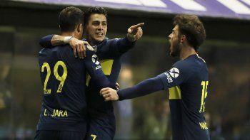 Cristian Pavón, Leonardo Jara y Nahitan Nández serán esta noche titulares en la formación de Boca.