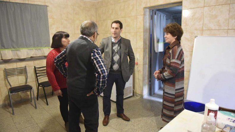 El Centro de Jubilados de Laprida recibió  fondos de Responsabilidad Empresaria