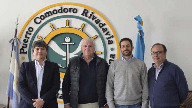 En el Puerto de Comodoro Rivadavia se llevó a cabo un encuentro en busca de restablecer el tráfico marítimo en la Patagonia.