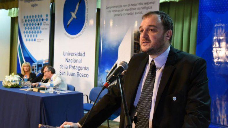 De Marziani está preocupado por los fondos insuficientes que Nación asignó a la UNPSJB