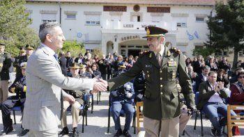 arcioni participo de la celebracion de los 52 anos del liceo militar
