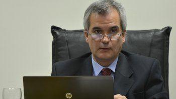 El juez Alejandro Rosales preside el tribunal que determinó la responsabilidad penal del imputado.