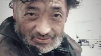 Eduardo Viejita Muñoz recuperó el alta médica y se encuentra con sus familiares.